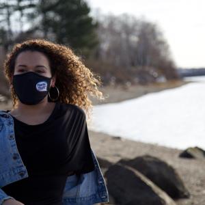 Masque Fierté Trans Noir